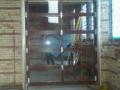 New garage doors in brewery