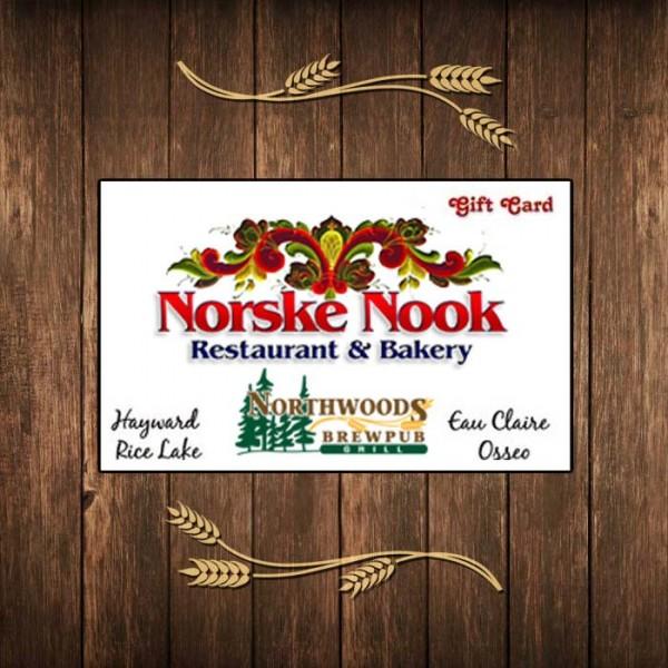 Northwoods Gift Card