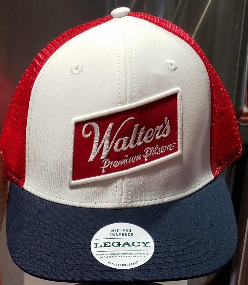 b225dde1fbd70 Walter's Red, White & Blue Cap   Northwoods Brewpub